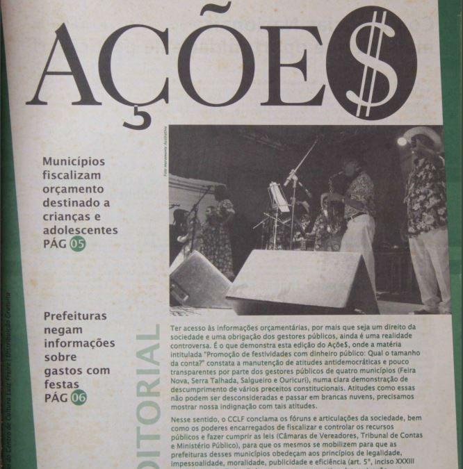 Ações | Número 22 – Ano 2005