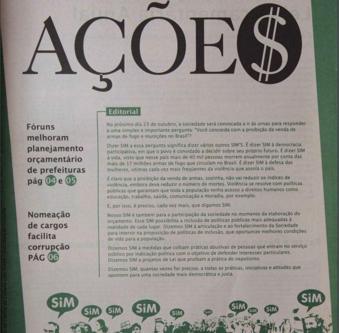 Ações | Número 23 – Ano 2005