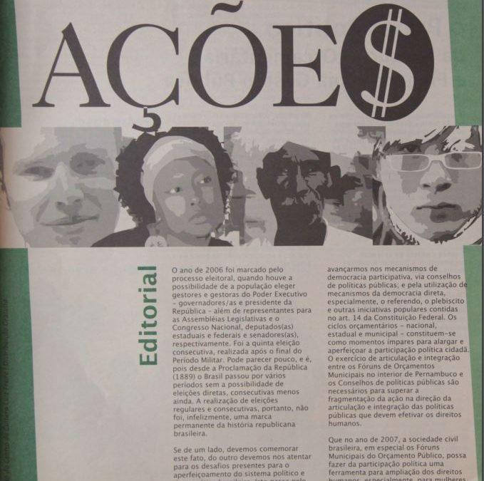 Ações | Número 26 – Ano 2005