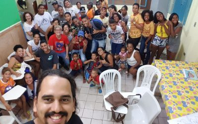 Projeto Ciranda: crianças e jovens populares participam de rodas para criação de campanha comunitária