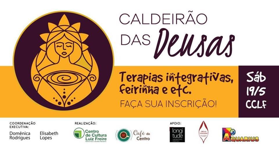 Caldeirão das Deusas estrea no Café do Centro de Cultura Luiz Freire neste sábado