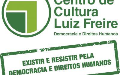 Democracia & Direitos Humanos – serão sempre as bandeiras do Centro de Cultura Luiz Freire e da TV VIVA