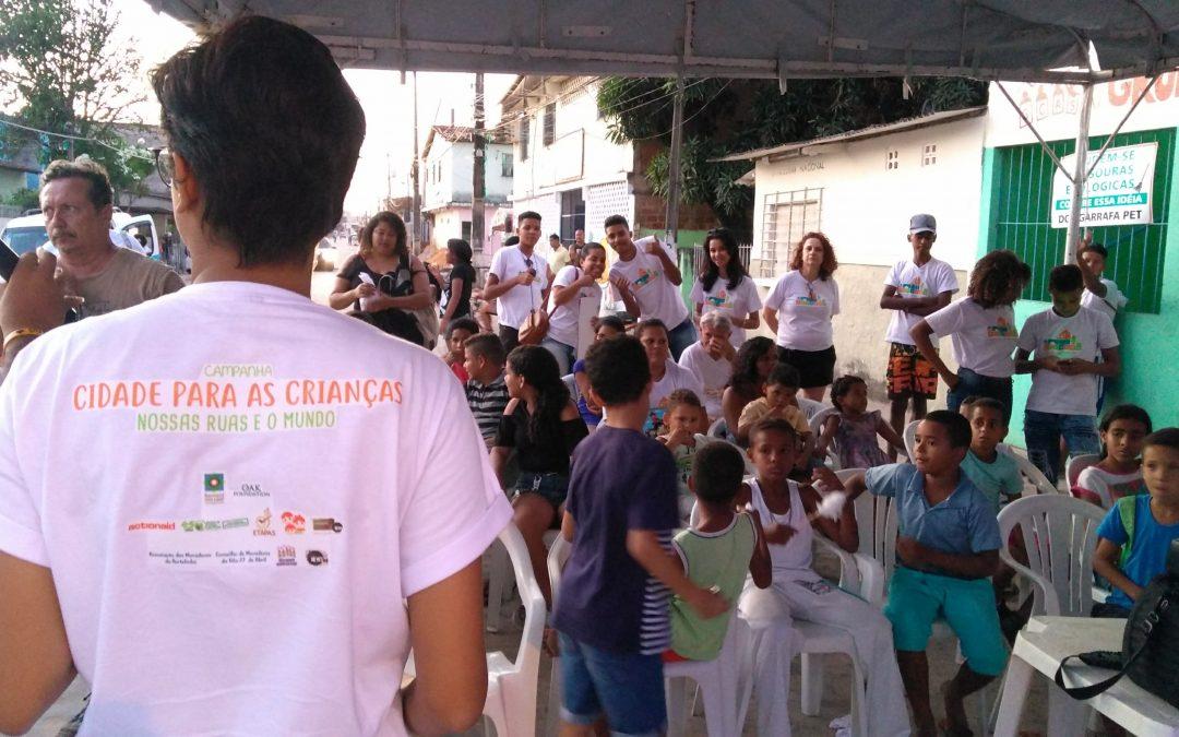 """Projeto Ciranda: """"Campanha Cidades para a Primeira Infância"""" é lançada nas comunidades"""