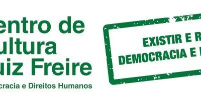 Centro de Cultura Luiz Freire 2019 – em Defesa da Democracia e dos Direitos Humanos