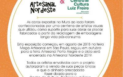 Segunda edição da feira Artesanal Nordeste fecha parceria com o Centro Luiz Freire.