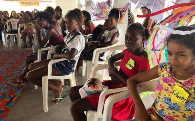 Encontro reúne meninas em Mirandiba para discutir sobre educação quilombola