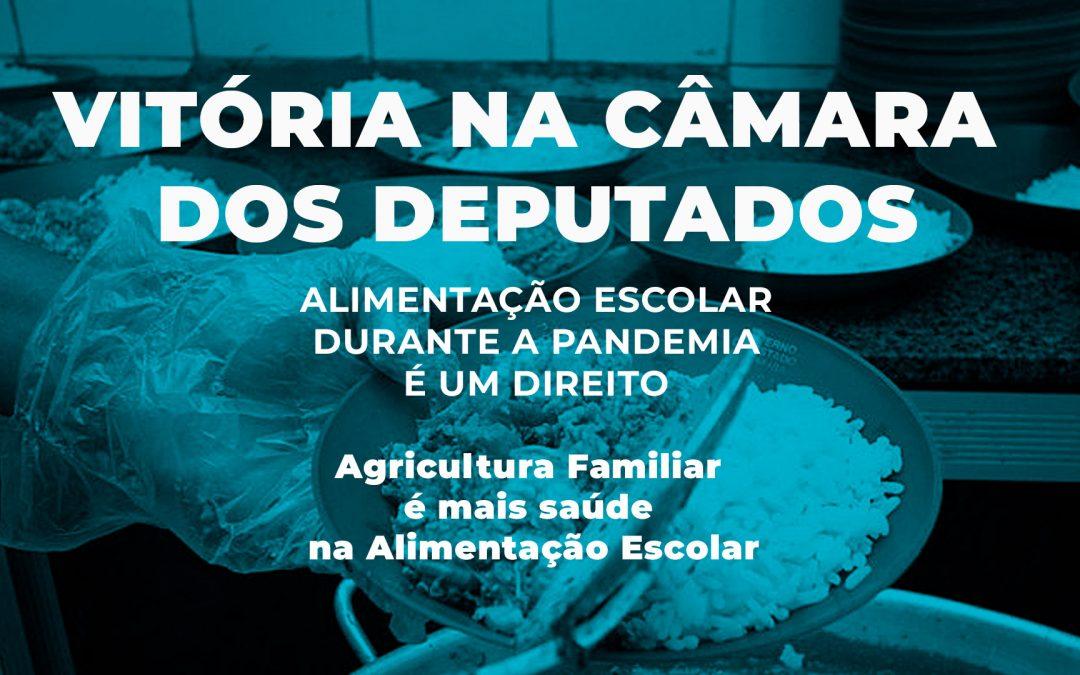 Vitória na Câmara: PL representa defesa da alimentação escolar