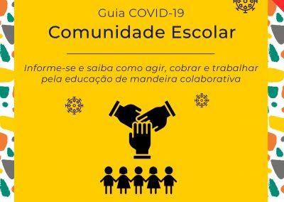 Guia COVID- 19 – Volume 6 –  Comunidade Escolar