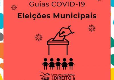 Guia COVID- 19 – Volume 9 – Guia sobre Educação e Proteção nas Eleições Municipais 2020