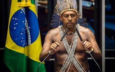 Cacique é eleito prefeito em Pesqueira (PE) e população dança nas ruas