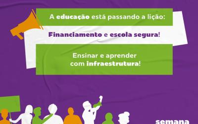 Direito à Educação: Semana de Ação Mundial discute infraestrutura das escolas em contexto de Covid-19