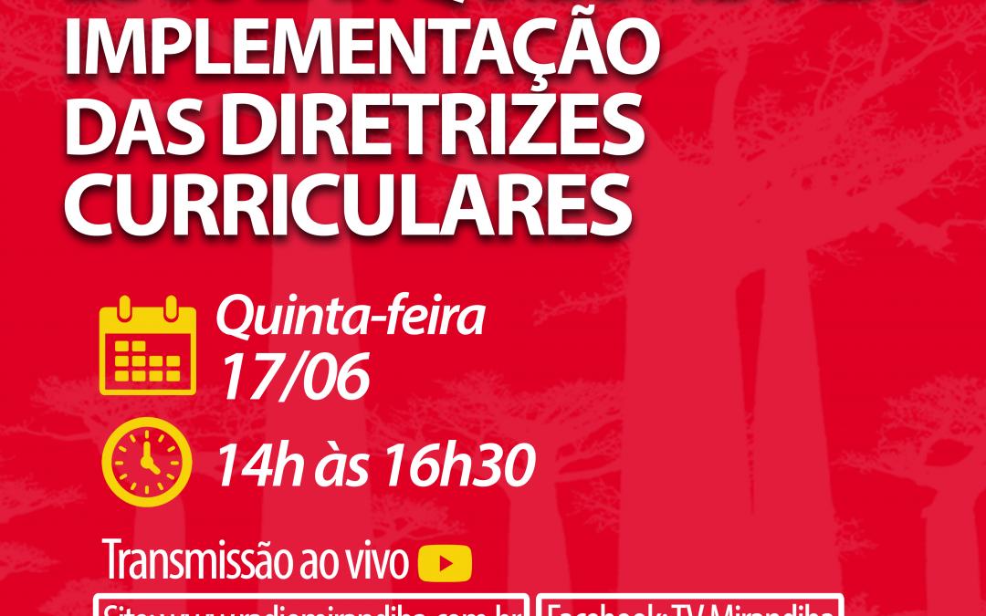 O movimento dos quilombos de Mirandiba para implementar suas Diretrizes Curriculares da Educação Escolar Quilombola